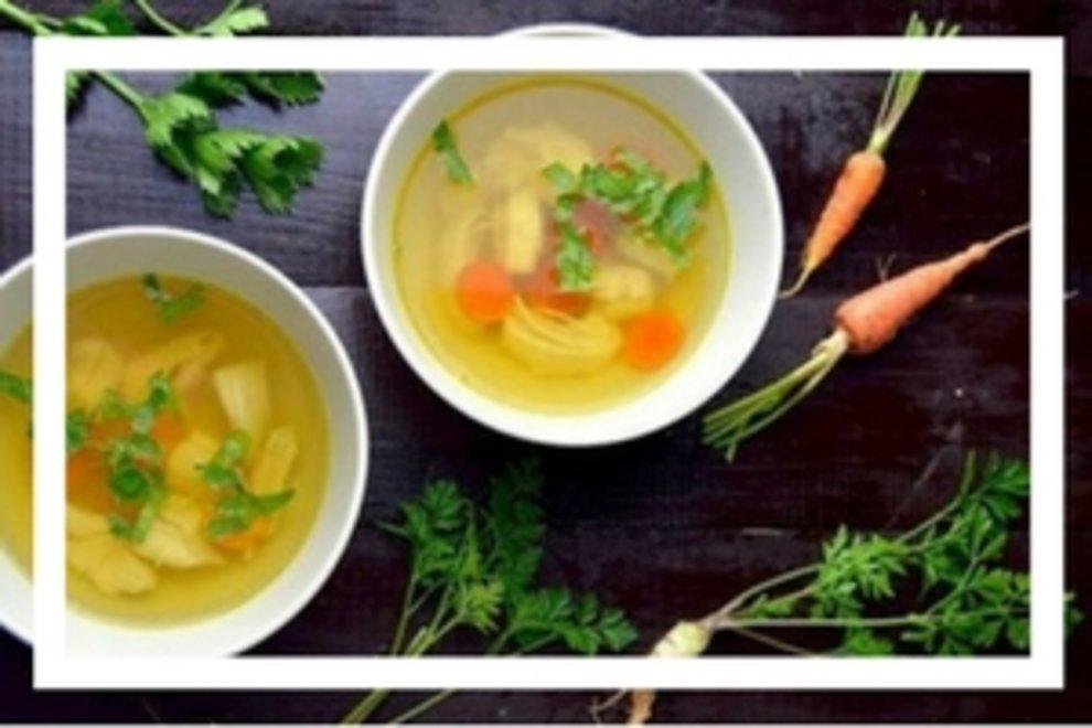 Rosół wg 5 przemian z kurczaka - zupa mocy